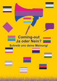 Gelbe Postkarte, Aktion 2019: Coming-out: Ja oder Nein?